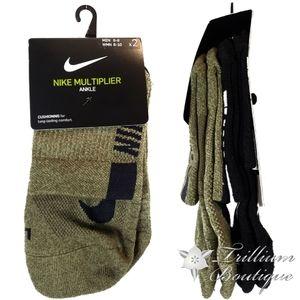 Nike Multiplier Unisex Cushioning Ankle Socks NWT!